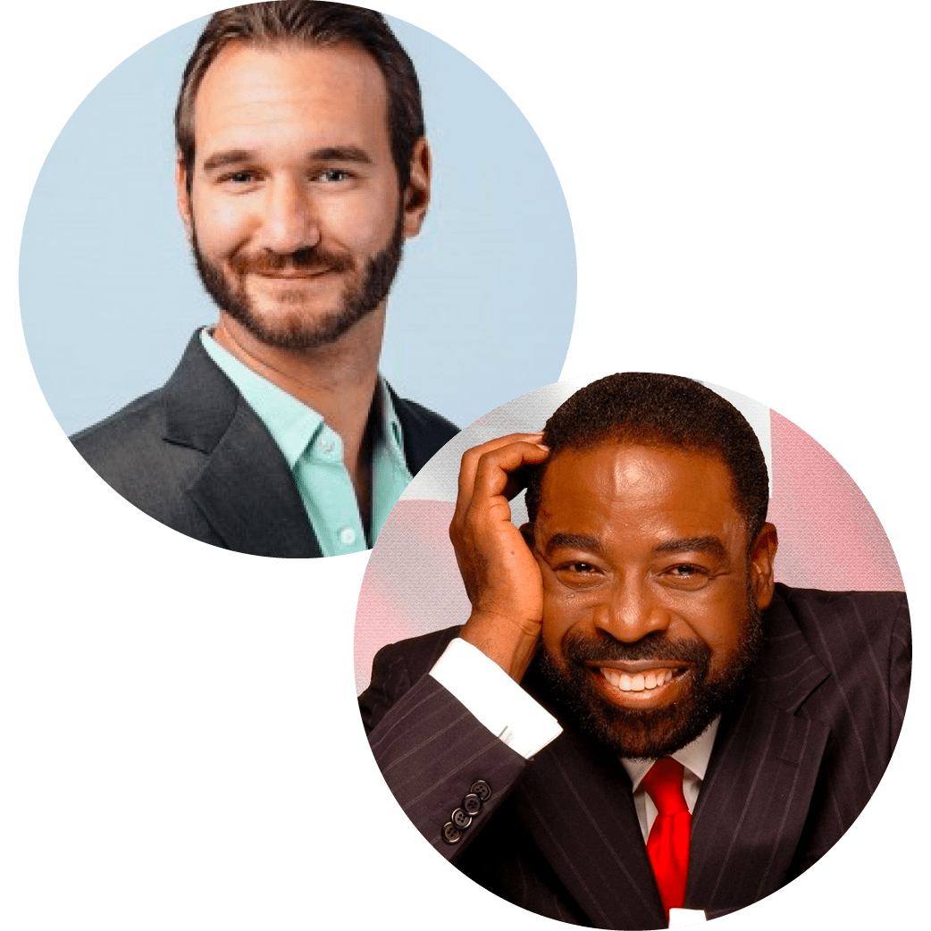 Nick Vujicic Les Brown