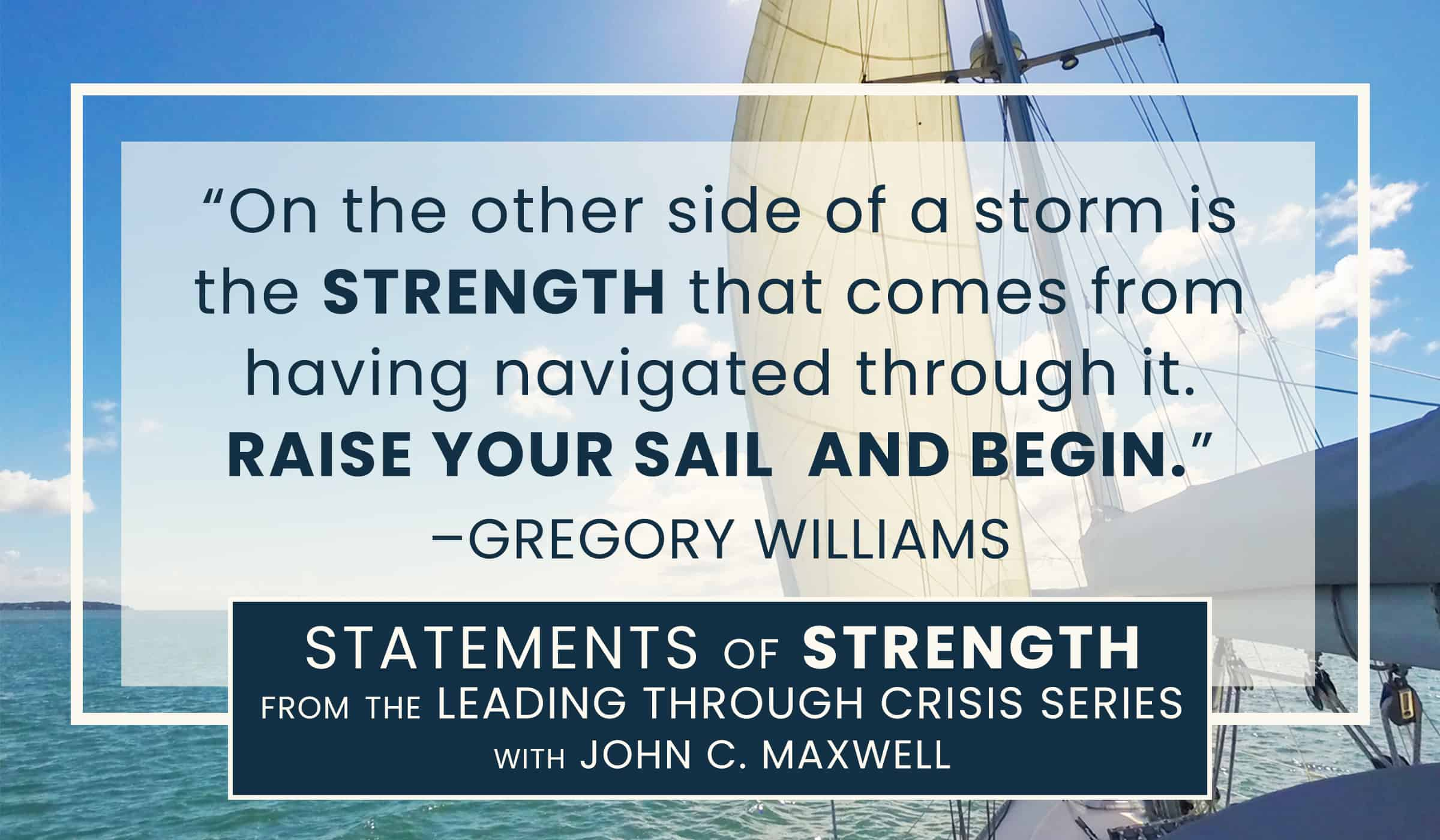 image of quote picture with gregory williams on strength