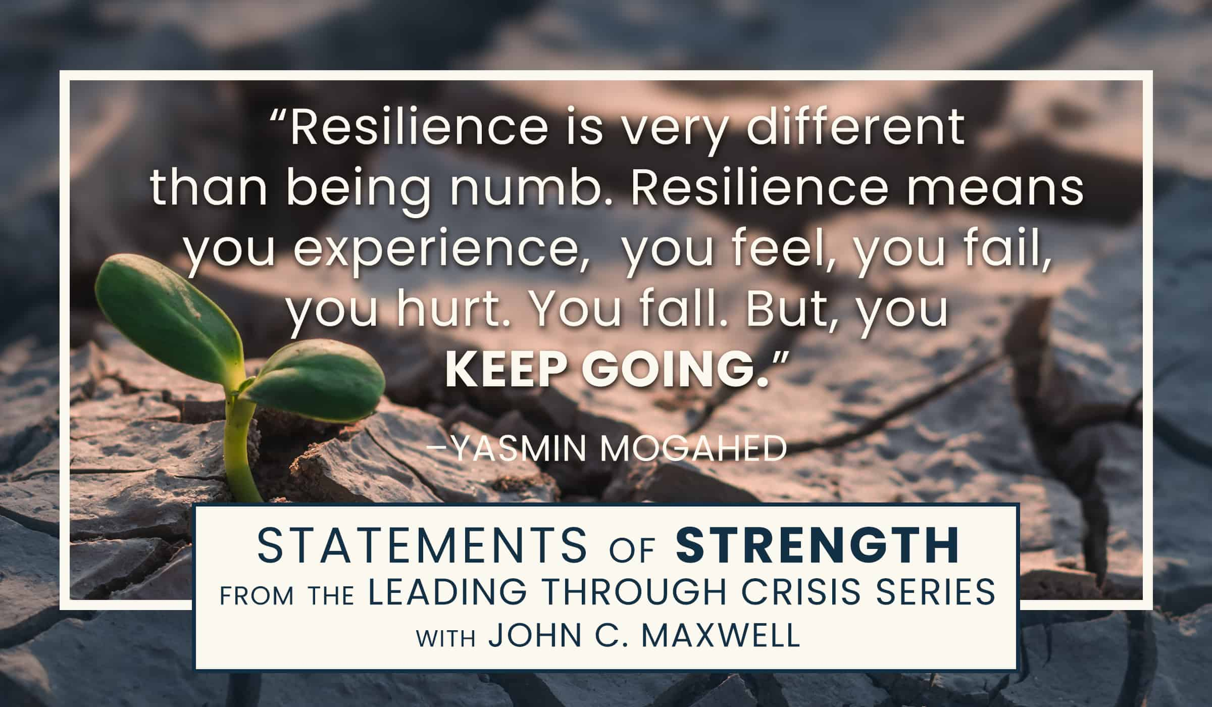 image of quote picture with quotation from yasmin mogahed on resilience