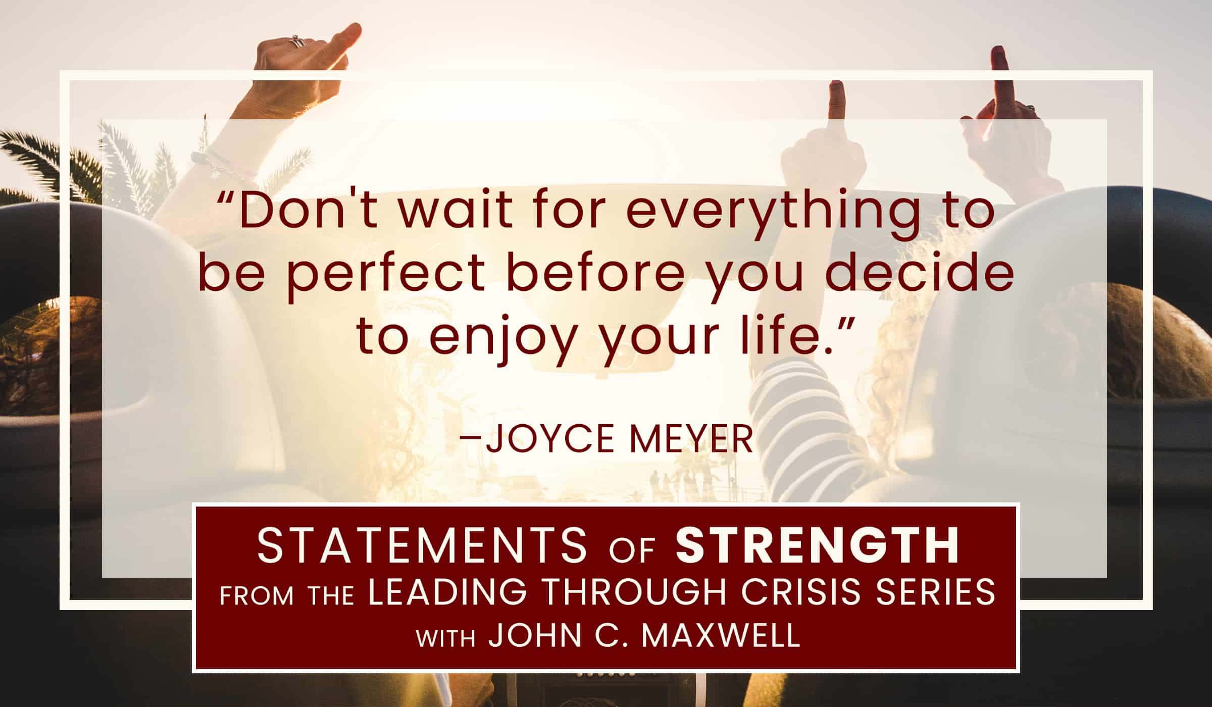 image of quotation picture with text quote from joyce meyer